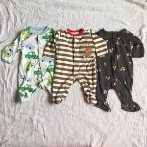 Baby Bundle Of Sleepers Newborn